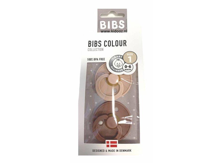 BIBS - Fopspeen Blister Woodchuck Blush