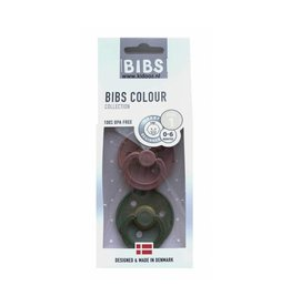 BIBS BIBS - Fopspeen Blister Woodchuck Green