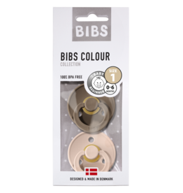BIBS BIBS - Fopspeen Blister Dark Oak / Blush