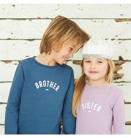 Bob & Blossom Sister sweatshirt - Violet
