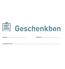 Hip Hoi - Cadeaubon