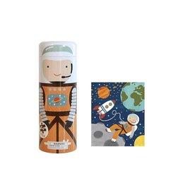 Petit Collage Petit Collage - Puzzel Astronaut