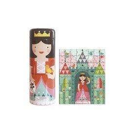 Petit Collage Petit Collage - Puzzel Prinses in kasteel
