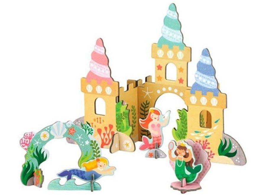 Petit Collage - Pop Out - 3D zeemeerminnen