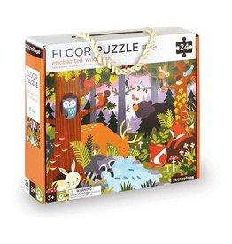 Petit Collage Petit Collage - Floor Puzzle - Woodland