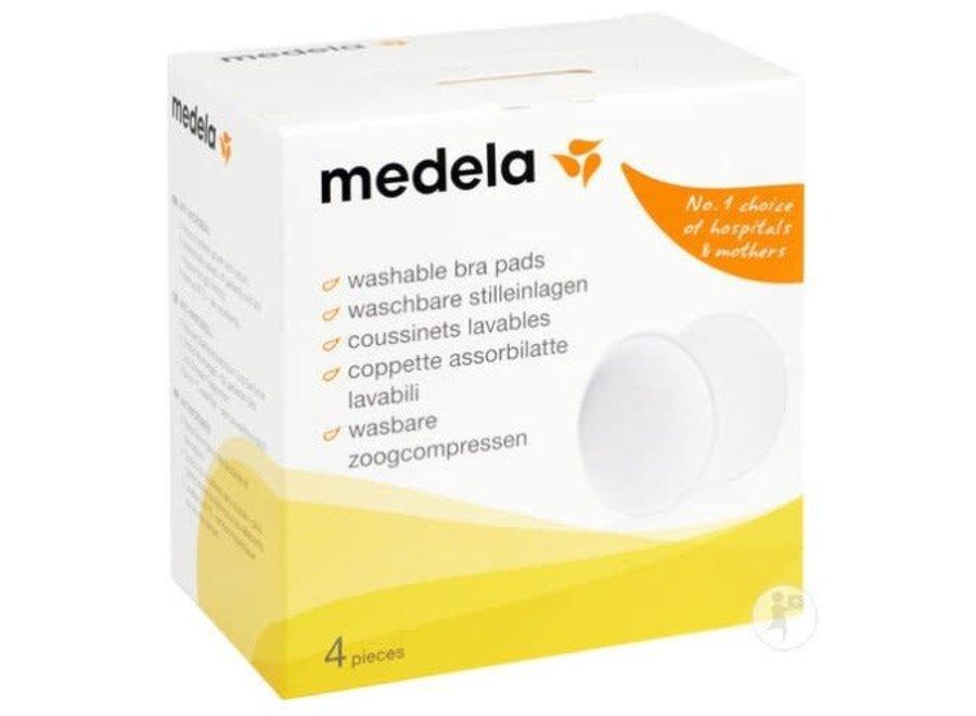 Medela Safe & Dry - Wasbare zoogcompressen