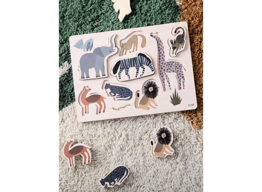 Ferm Living - Safari inlegpuzzel