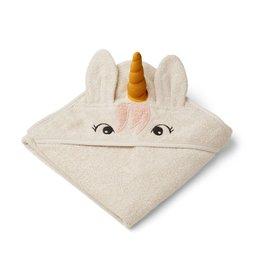 Liewood Liewood - Albert Hooded Towel - Unicorn Sandy