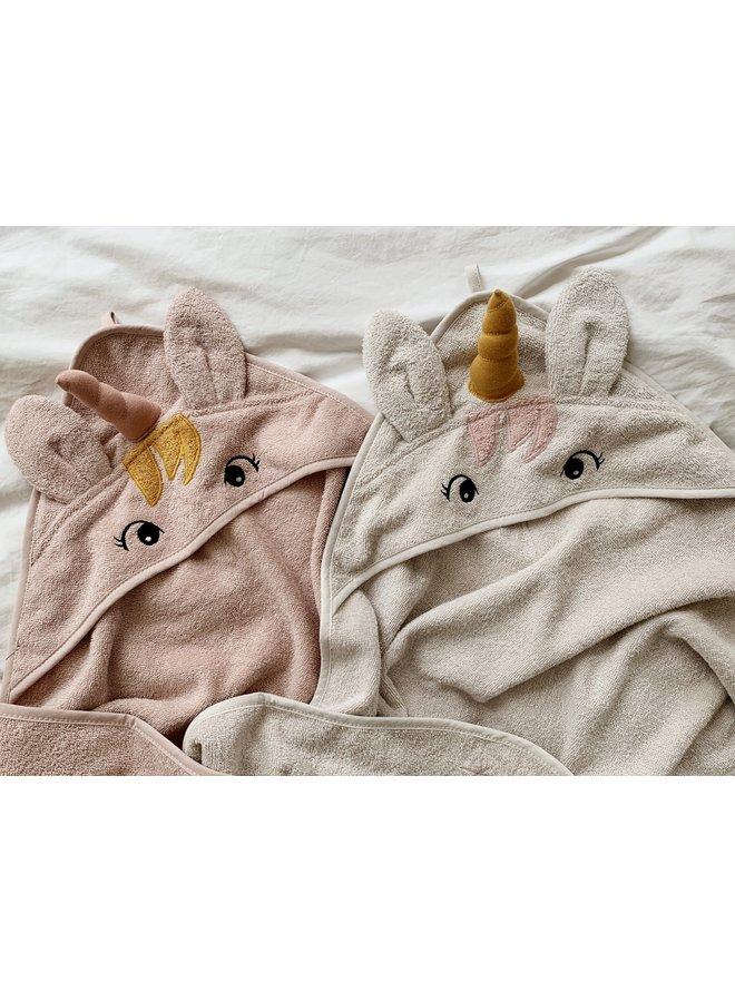 Liewood - Albert Hooded Towel - Unicorn Sandy