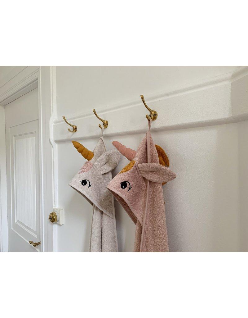 Liewood Liewood - Augusta hooded towel - Unicorn Sorbet Rose
