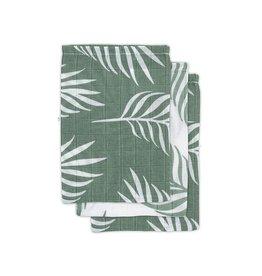 Jollein Jollein - Washandje Nature - Ash Green (3 pack)