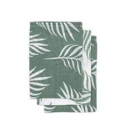 Jollein - Washandje Nature - Ash Green (3 pack)
