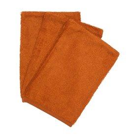 Timboo Timboo - Set van washandjes - Inca Rust