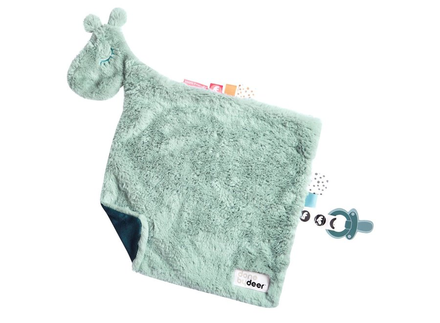 Done By Deer - Comfort Blanket Raffit Blue