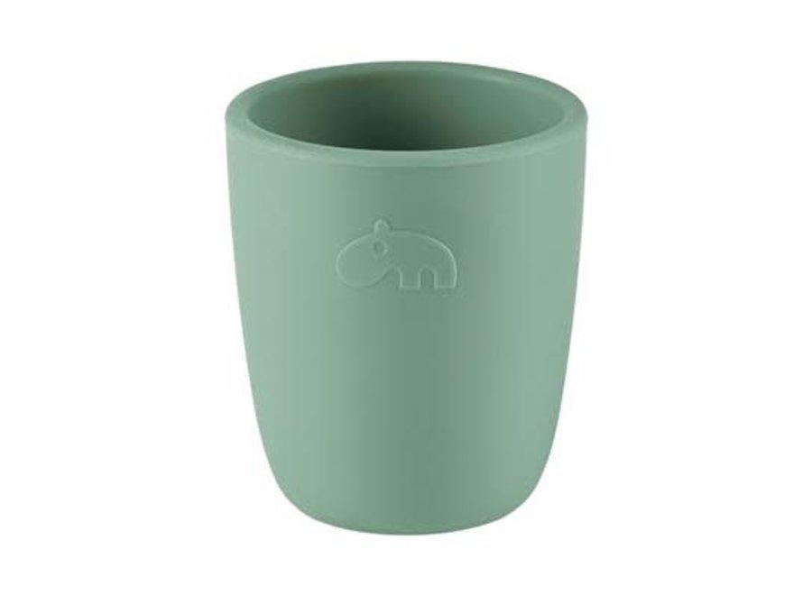 Done By Deer - Silicone Mini Mug Green