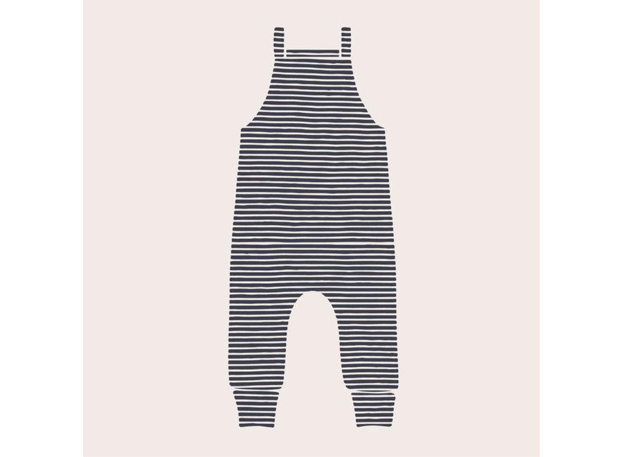 Geboortelijst - Adam + de kleine wolf - Jumpsuit Stripes 62/68