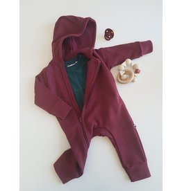 cos I said so Cos I Said So - Hooded Playsuit - Zinfandel