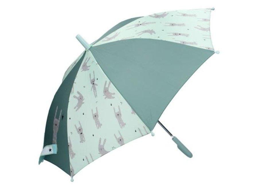 Kidzroom - Paraplu Rabbit Mint