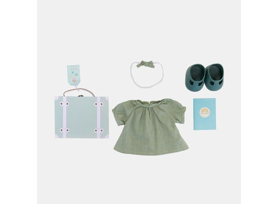 Olli & Ella - Dinkum Doll Travel Togs - Mint