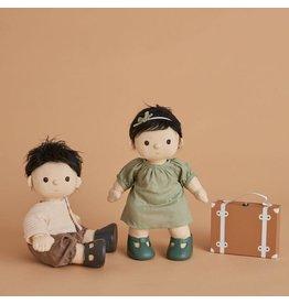 Olli & Ella Olli & Ella - Dinkum Doll Travel Togs - Rust