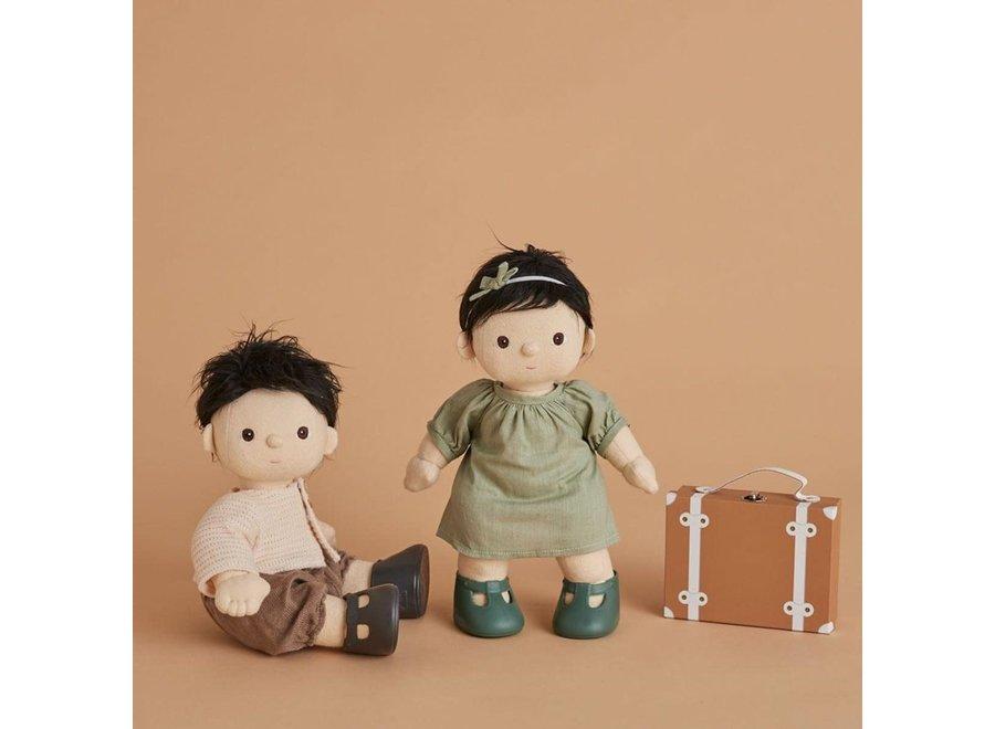 Olli & Ella - Dinkum Doll Travel Togs - Rust