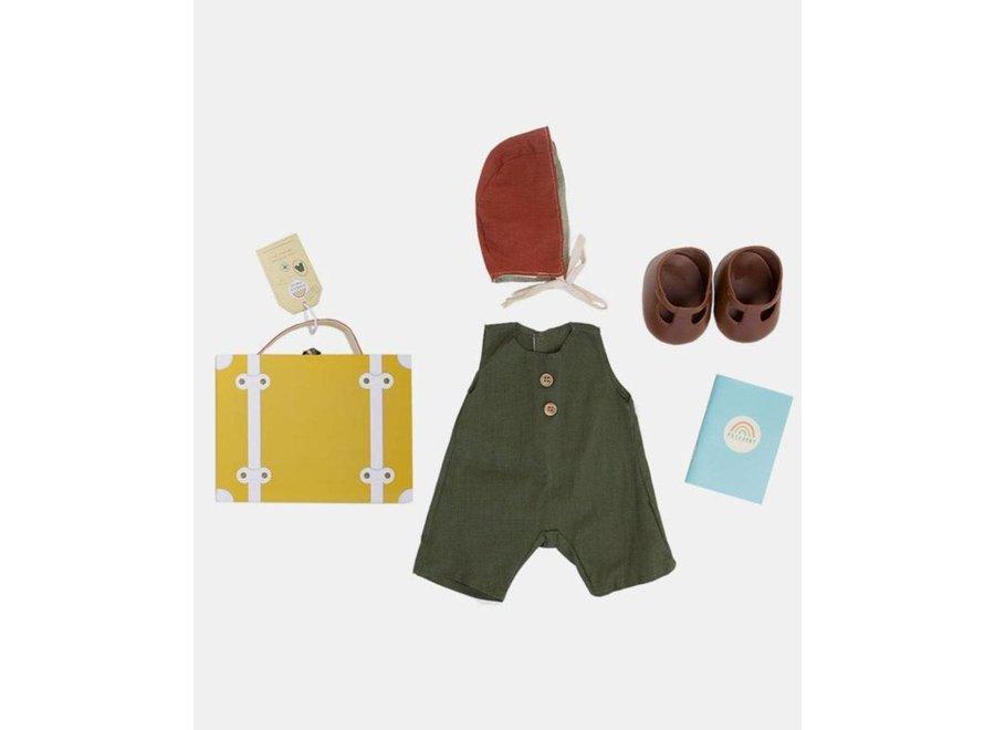 Olli & Ella - Dinkum Doll Travel Togs - Mustard