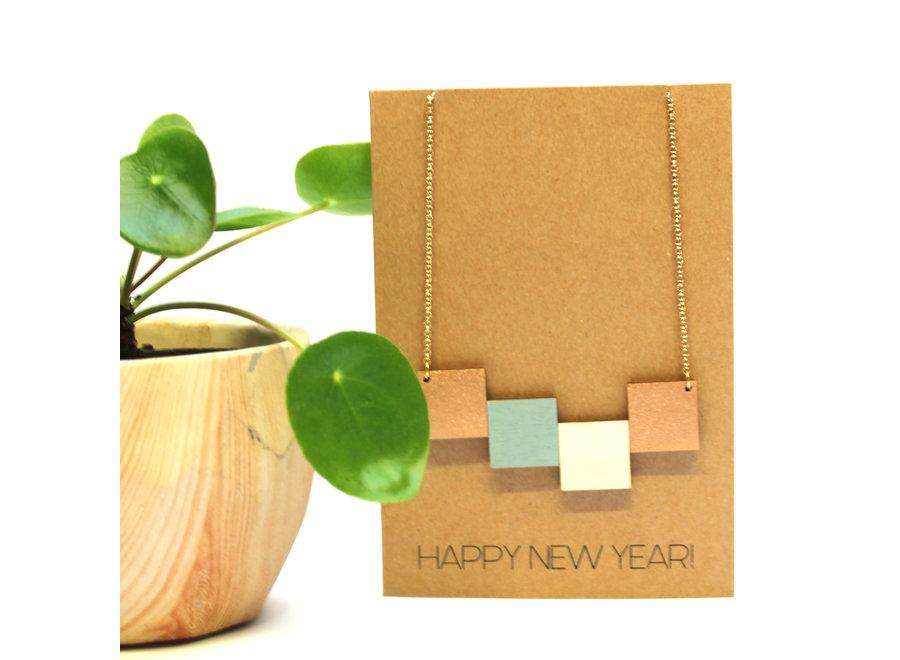 Ella Marie - Wenskaart Happy New Year