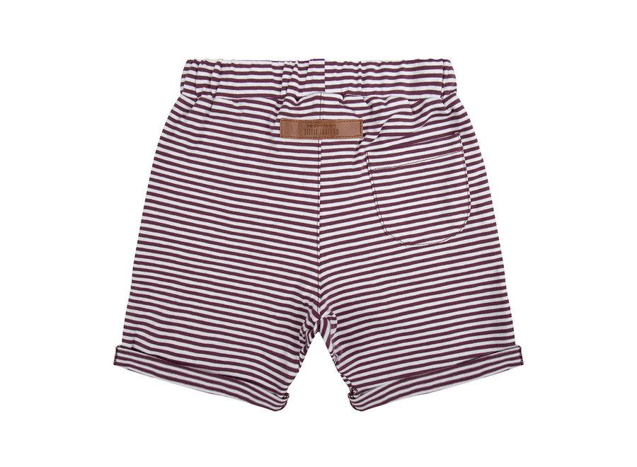 Little Indians - Short - Purple Stripes