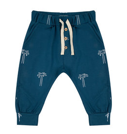 Little Indians Little Indians - Pants Palmtrees - Legion Blue