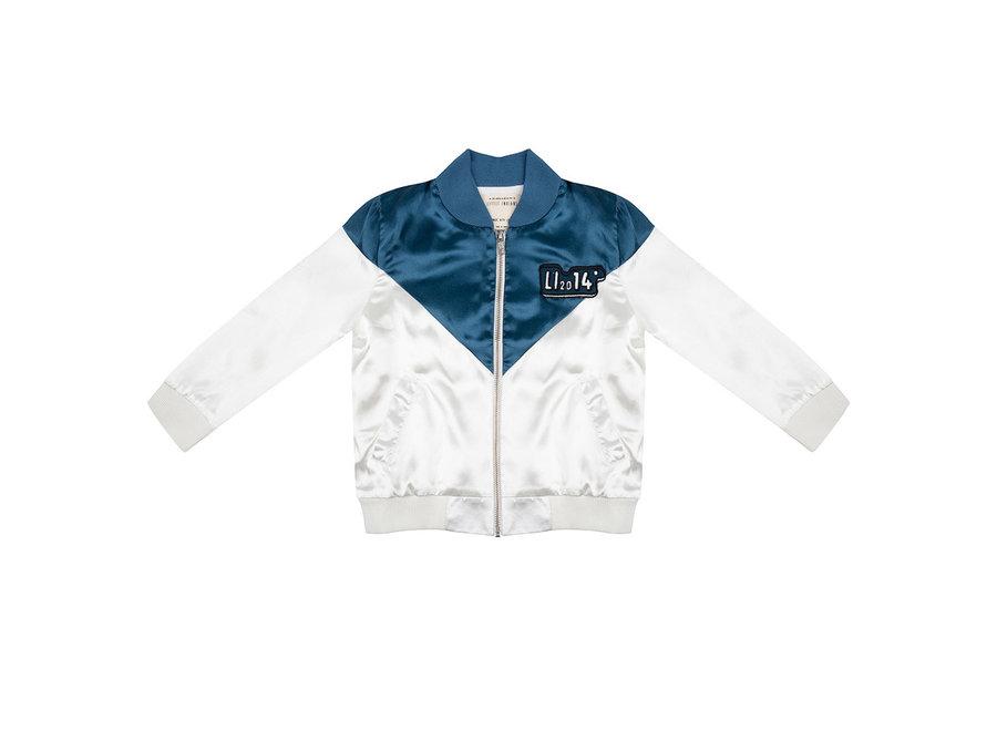 Little Indians - Satin Jacket Li '14- Legion BLue