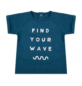 Little Indians Little Indians - T Shirt Find Your Wave - Legion Blue