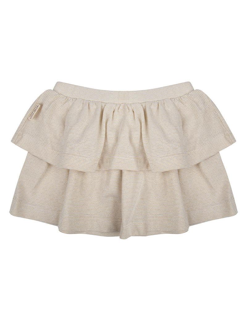 Little Indians Little Indians - Skirt Gold Stripe