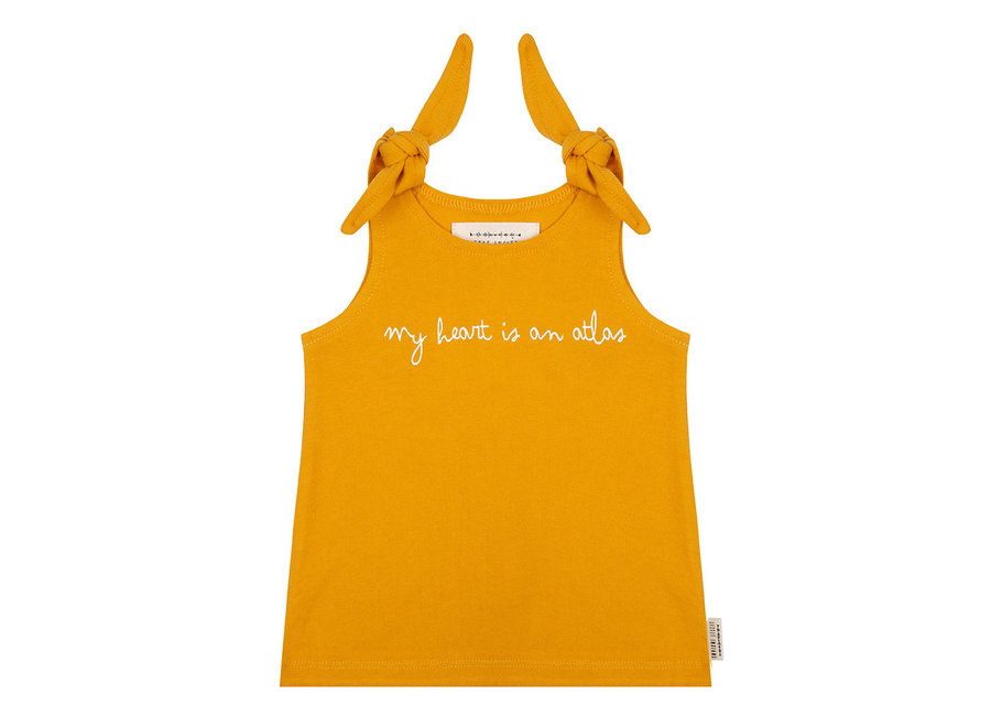 Little Indians - Tanktop My heart is an Atlas - Summer Flower