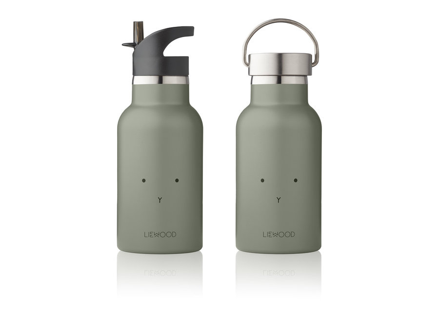 Liewood - Anker Bottle - Rabbit Faune Green