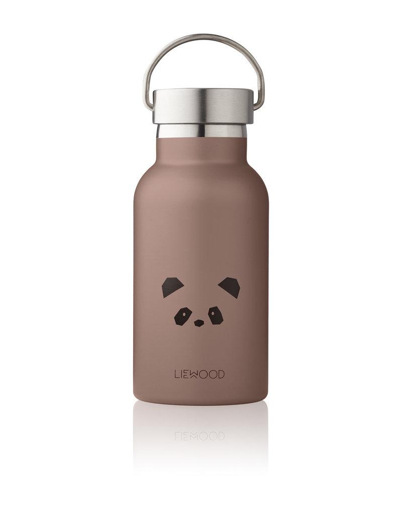 Liewood Liewood - Anker Bottle - Panda Dark Rose