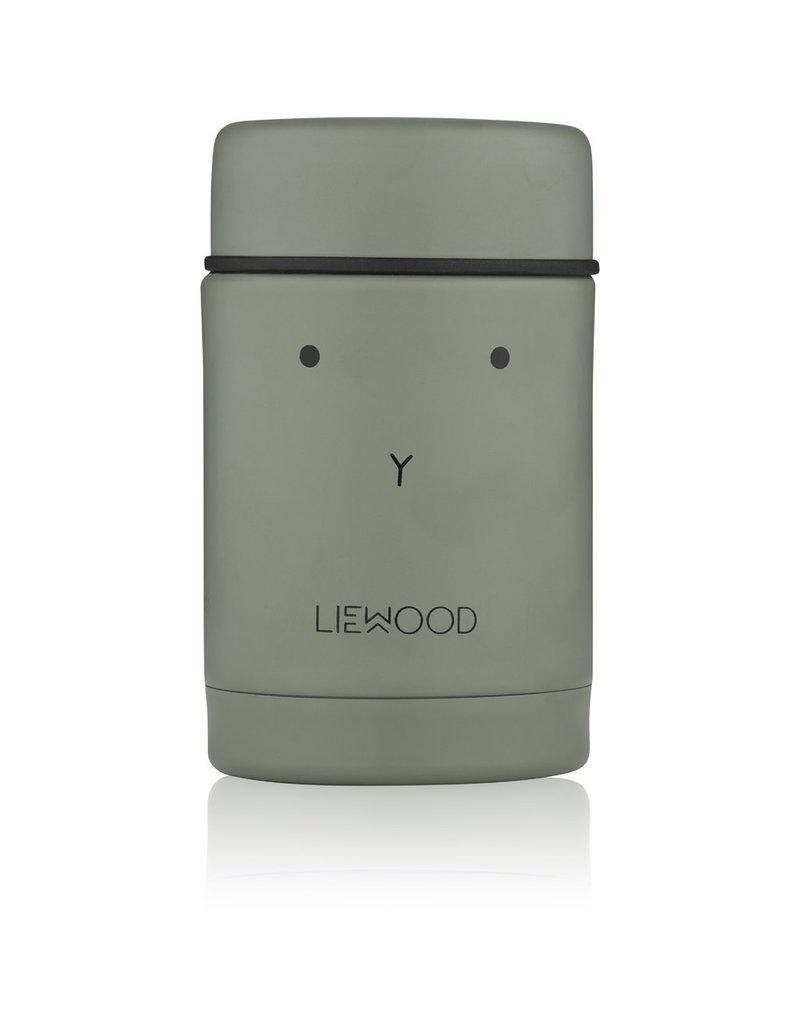 Liewood Liewood - Nadja Food Jar - Rabbit Faune Green