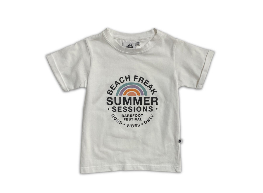Cos I Said So - Short Sleeve T Shirte Summer Sessions - White