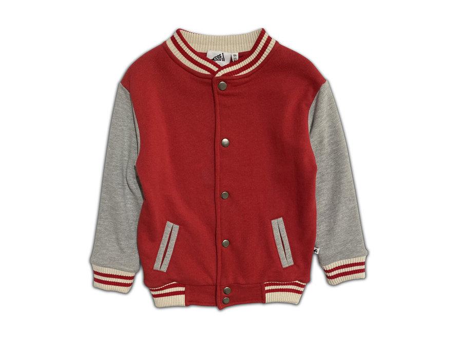 Cos I Said So - Jacket Varsity - Grey