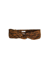 Sproet & Sprout Sproet & Sprout - Turban headband Tiger - Caramel