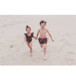 Sproet & Sprout Sproet & Sprout - Swim shorts Painted Stripe