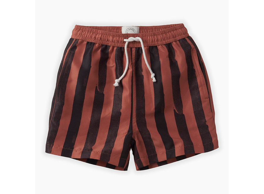 Sproet & Sprout - Swim shorts Painted Stripe