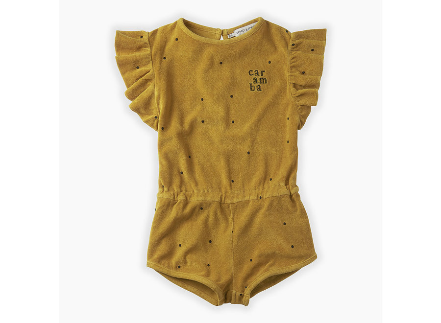 Sproet & Sprout - Jumpsuit Dots Caramba