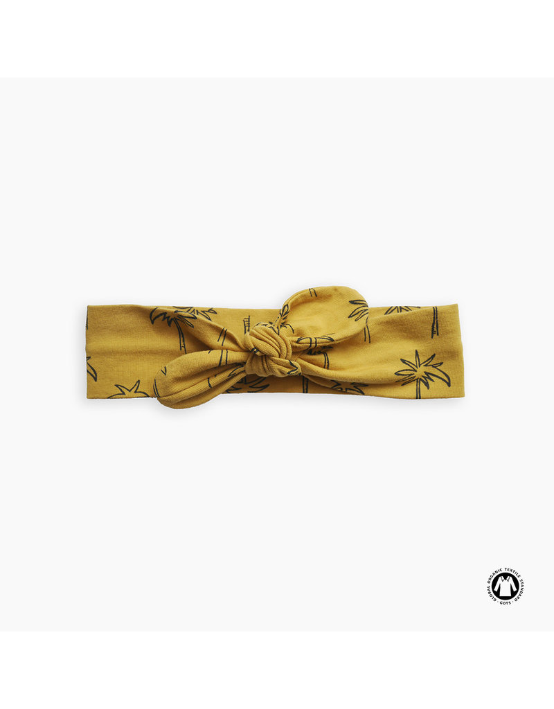 Sproet & Sprout Sproet & Sprout - Headband print Palm Tree - Curcuma