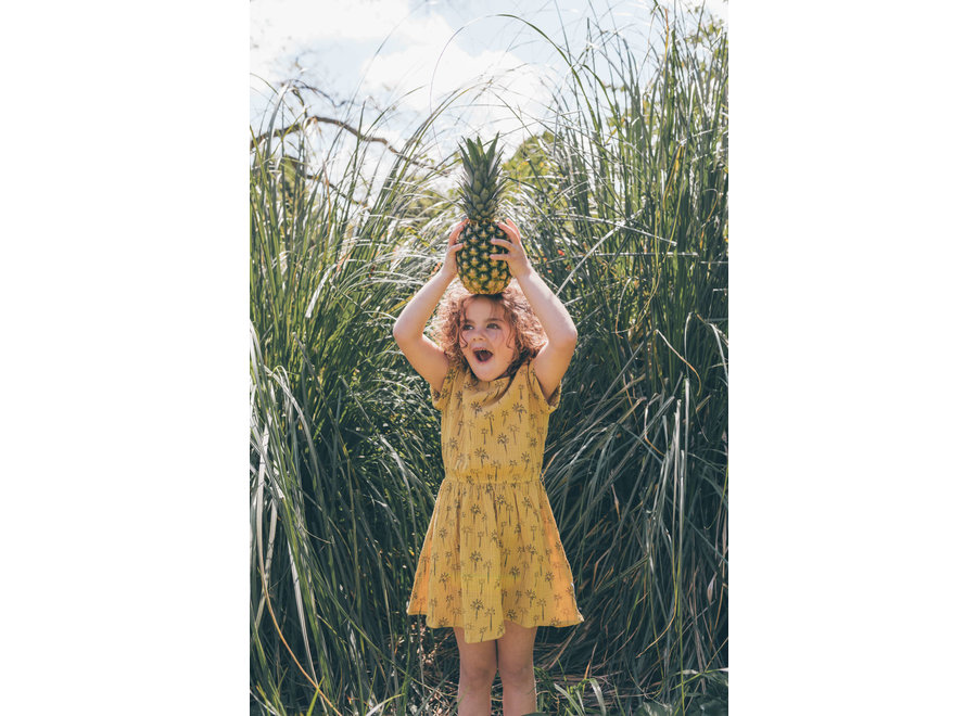 Sproet & Sprout - Dress print Palm Tree