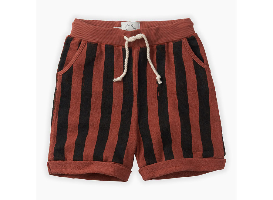 Sproet & Sprout - Shorts Painted Stripe - Mango