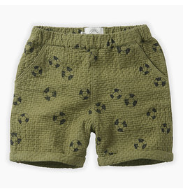 Sproet & Sprout Sproet & Sprout - Shorts print Lifebuoy - Tropical Green
