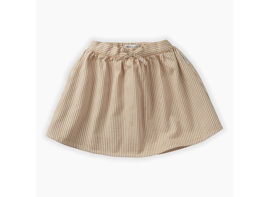 Sproet & Sprout - Skirt Pinstripe - Summer White