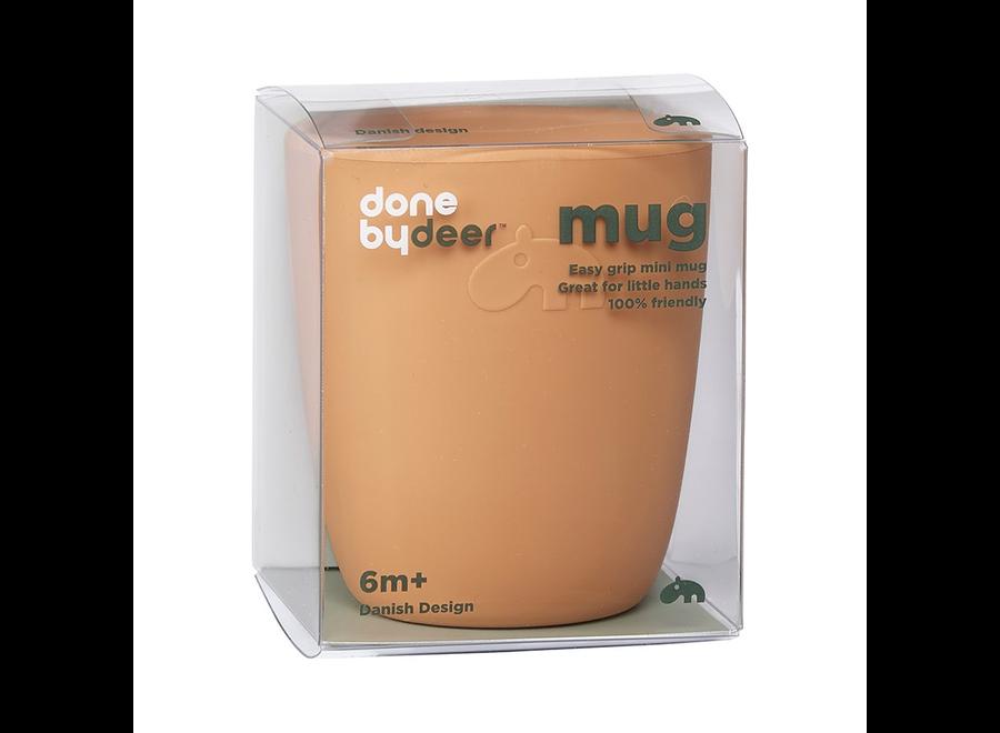 Done By Deer - Silicone Mini Mug - Mustard