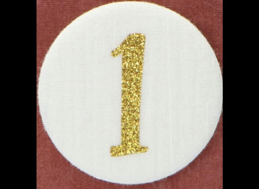 Liezelijn - Cijfers 3 tot 9 - Goud