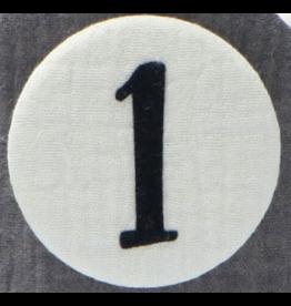Liezelijn Liezelijn - Cijfers 3 tot 9 - Grijs